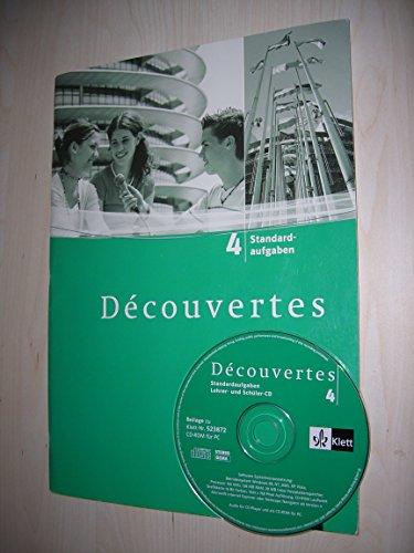 9783125238725: Découvertes Bd 4. Standardaufgaben mit Multisession-CD, Kopiervorlagen DIN A 4