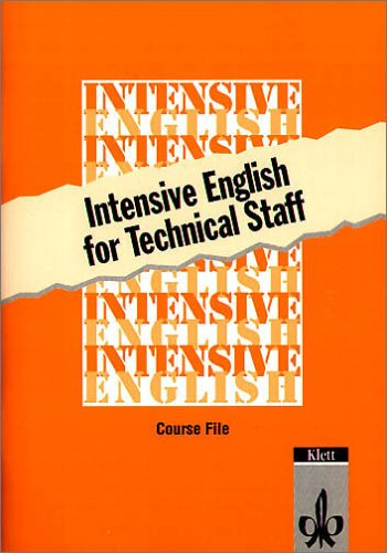 9783125240698: Intensive English for Technical Staff. Course File.