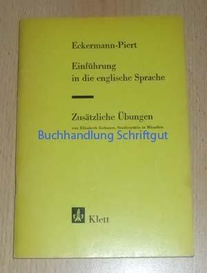9783125247000: Einführung in die Englische Sprache. Zusätzliche Übungen