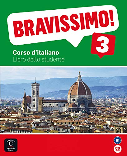 9783125251267: Bravissimo 3. Libro dello studente mit Audio-CD