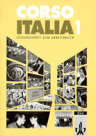 9783125251519: Corso Italia 1. Lösungsheft zum Arbeitsbuch