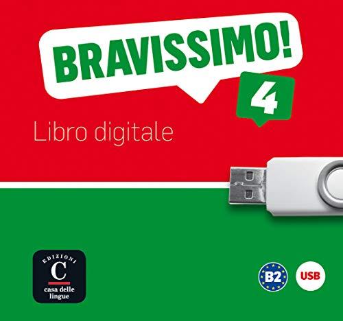 9783125251618: Bravissimo! 4. Libro digitale USB