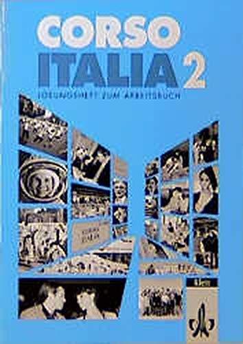 9783125252516: Corso Italia 2. Lösungsheft zum Arbeitsbuch