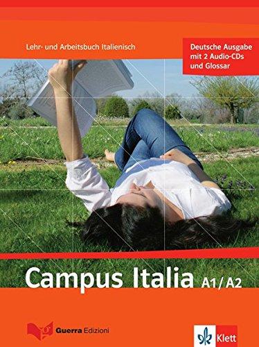 9783125255401: Campus italia a1/A2. Lehr- und Arbeitsbuch mit 2 Audio-CDs