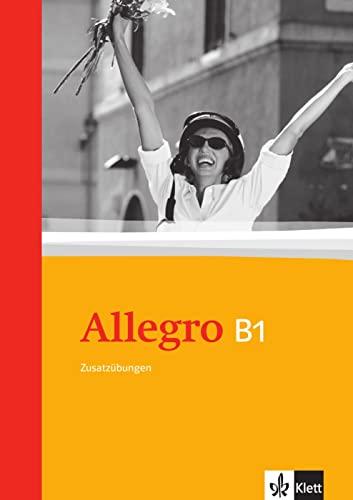 9783125255692: Allegro 3 Zusatz�bungen: Italienisch f�r Anf�nger. Mit L�sungen