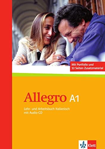 9783125255807: Allegro / Lehr- und Arbeitsbuch mit CD (A1)