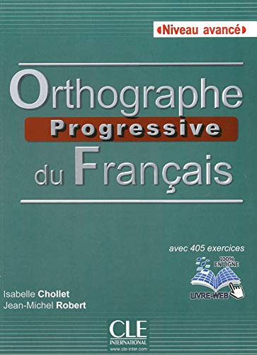 9783125257542: Orthographe progressive du français, Niveau avancé. Buch + Audio-CD