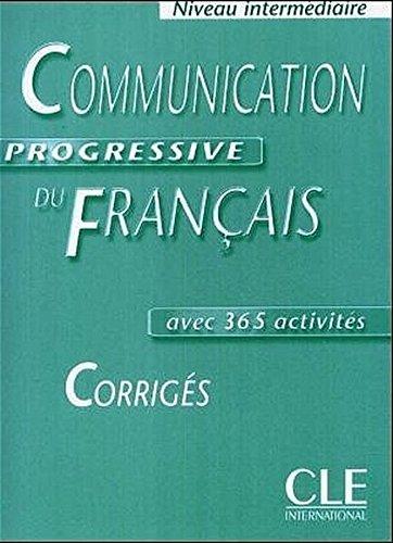 9783125260122: Communication progressive du Francais. Niveau intermediaire. Corriges: avec 365 activités