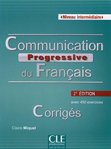 9783125260191: Communication progressive du français - Niveau intermédiaire. Corrigés
