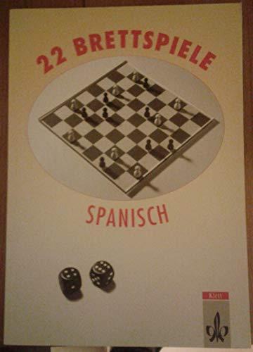 9783125268142: 22 brettspiele spanisch
