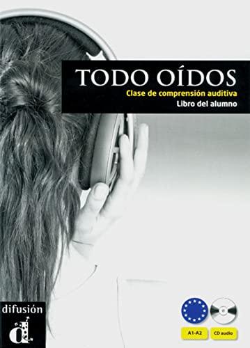 9783125270381: Todos o�dos. Gu�a did�ctica (A1/A2): Clase de comprensi�n auditiva / Buch und Audio-CD