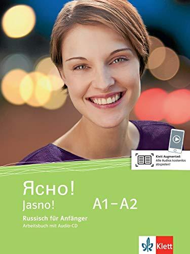 9783125275911: Jasno! Arbeitsbuch mit Audio-CD A1-A2
