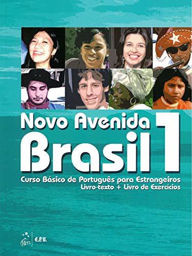 9783125283107: Novo Avenida Brasil 1 - Curso Basico de Portugués Brasileño + Audio-CD