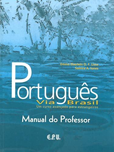 9783125283312: Português via Brasil. Lehrerhandbuch