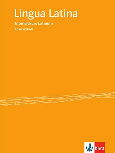 9783125287846: Lingua Latina - Intensivkurs Latinum. Lösungsheft