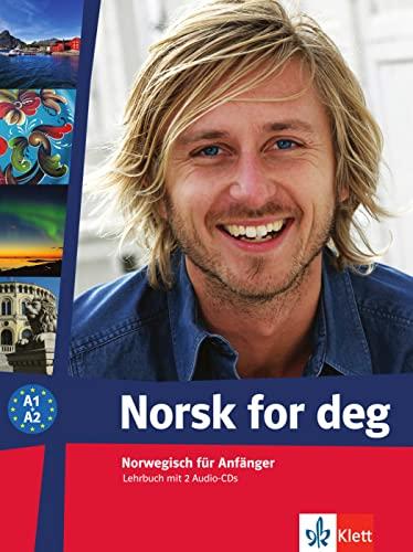 9783125289208: Norsk for deg (A1-A2). Lehrbuch mit 2 Audio-CDs: Norwegisch für Anfänger