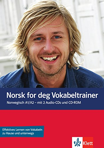 9783125289239: Norsk for deg (A1-A2). Vokabeltrainer mit 2 Audio-CDs und 1 CD-ROM