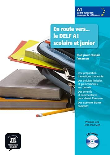 9783125292734: En route vers... le DELF A1 scolaire et junior. Buch mit Audio-CD