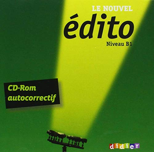 9783125293519: �dito. CD-ROM autocorrectif Cahier d'entrainement B1 [import allemand]