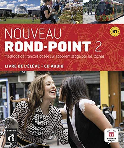 9783125293649: Nouveau Rond-Point 2. Livre de l'élève + CD audio (B1)