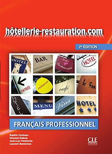 9783125294424: hôtellerie-restauration.com. Livre de l'élève avec DVD-ROM