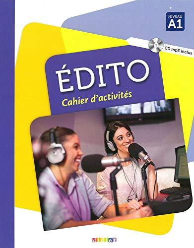 9783125294769: Édito A1.Cahier d'exercices + CD MP3