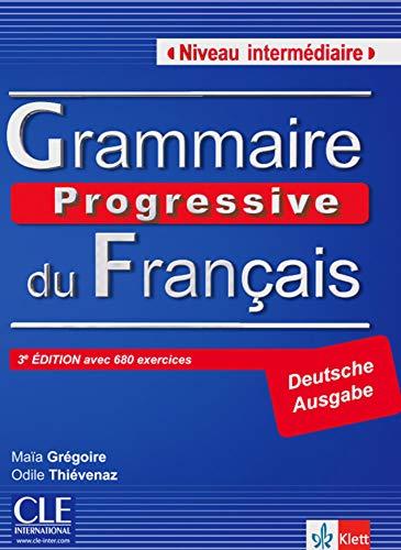 9783125298545: Grammaire progressive du français - Niveau intermédiaire. Textbuch mit 600 Übungen mit Audio-CD