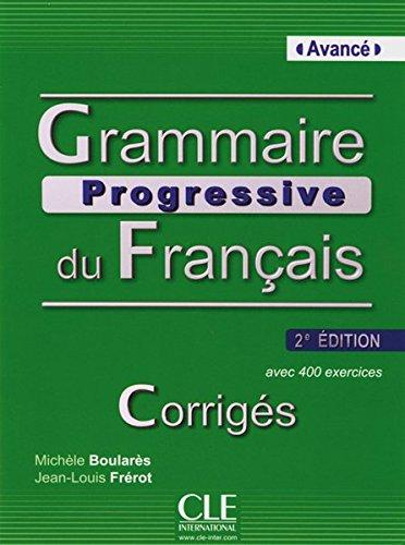 9783125298590: Grammaire Progressive Du Français