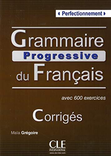 9783125298675: Grammaire progressive du français - Niveau perfectionnement. Corrigés