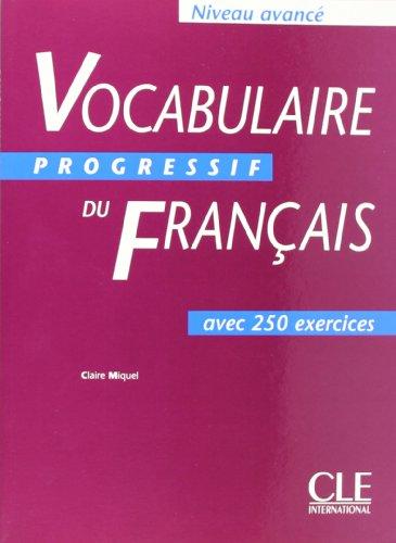 Avance Stuttgart 9782090338768 vocabulaire progressif du francais livre avance