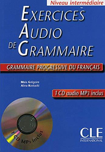 9783125298996: Exercices audio de grammaire Grammaire progressive du français - Niveau intermédiaire: Livre + CD audio
