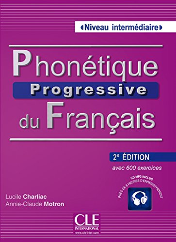 9783125299467: Phonétique Progressive Niveau Intermédia