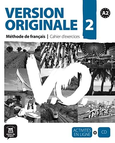 9783125302143: Version originale A2. Arbeitsbuch mit Audio-CD