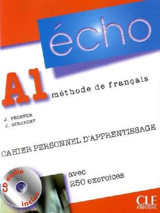 9783125302310: Écho A1. Cahier personnel d'apprentissage + CD audio + corrigés: Neubearbeitung