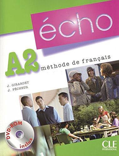 Écho A2. Livre de l'élève + portfolio