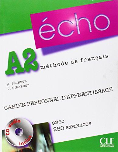 9783125302419: Écho A2. Cahier personnel d'apprentissage + CD audio + corrigés: Neubearbeitung