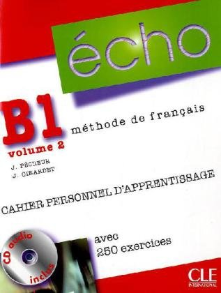 9783125302556: Écho B1.2. Cahier personnel d'apprentissage + CD audio + corrigés