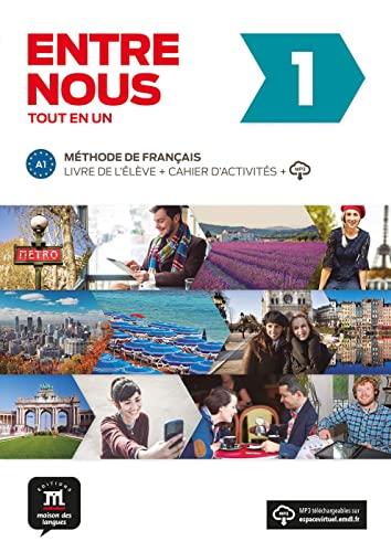 9783125302709: Entre nous. Livre de l'élève + cahier d'exercices + MP3-CD A1