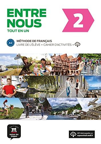 9783125302730: Entre nous 2 (A2). Livre de l'élève + cahier d'exercices + MP3-CD