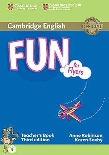 9783125329096: Fun for Flyers. Teacher's Book with audio CD