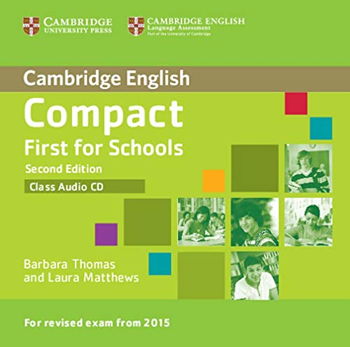 9783125329126: Compact First for Schools - Second edition. Class audio CD