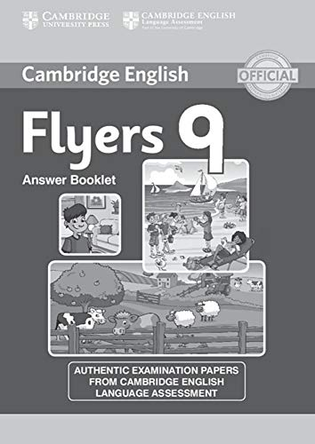 9783125329225: Cambridge English Young Learners. Answer booklet: Flyers 9. Answer booklet