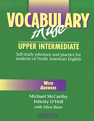 9783125330238: Vocabulary in Use - Upper intermediate, With Answers