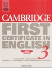 9783125330269: Cambridge First Certificate in English 3, Student's Book with Answers