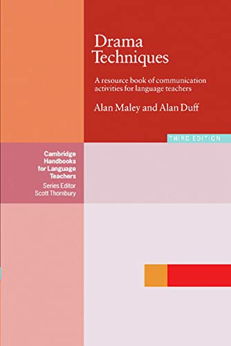 Drama Techniques in Language Learning (312533067X) by Duff, Alan