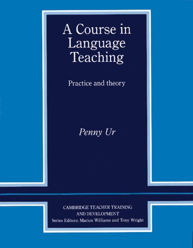9783125332027: A Course in Language Teaching. Practice and theory