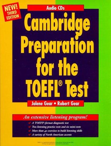 9783125333635: Cambridge Preparation for the TOEFL Test, 3rd ed., Audio-CD zum Course Book