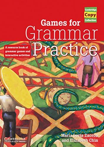 9783125334052: Games for Grammar Practice. Teachers Resource Book.
