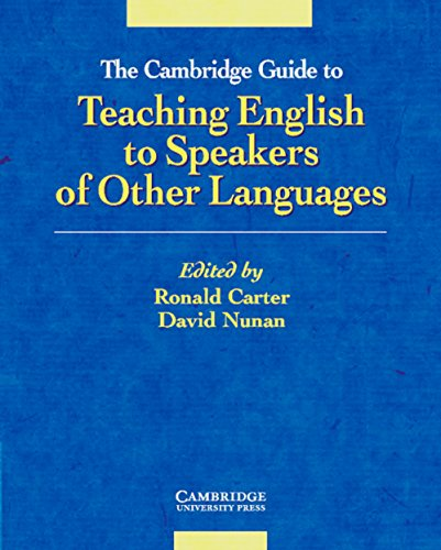 9783125334267: The Cambridge Guide to Teaching English to Speakers of Other Languages. (Lernmaterialien)