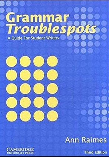 9783125334274: Grammar Troublespots. Student's Book